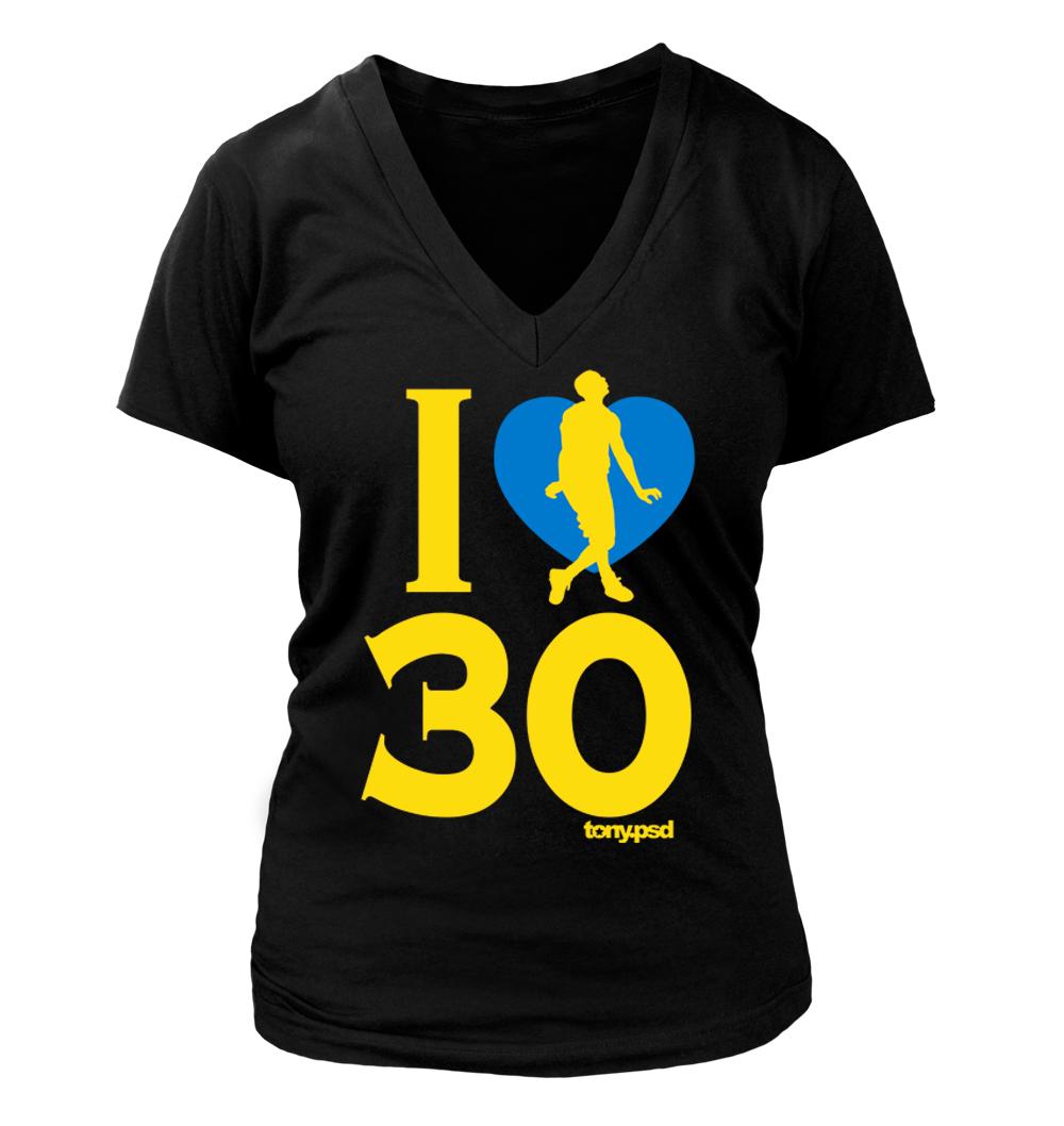 I Love Heart Stephen V-Neck T-Shirt